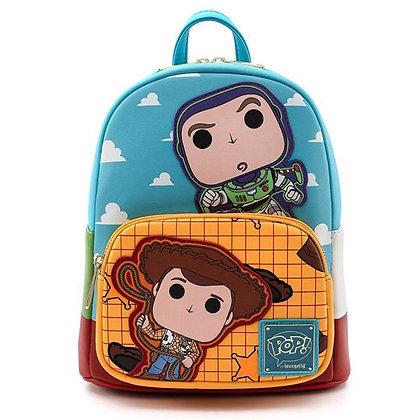 Loungefly x Disney Pop Buzz & Woody Mini Backpack