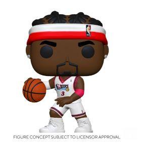 Funko Pop NBA  Legends - Allen Iverson (Sixers Home