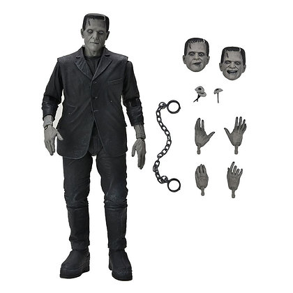 Neca Universal Monsters - Frankenstein's Monster (Black & White) 18cm