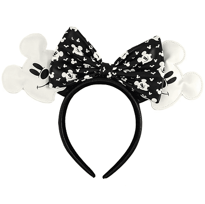 Loungefly x Disney Minnie Mouse Ghost Glow in the dark ears