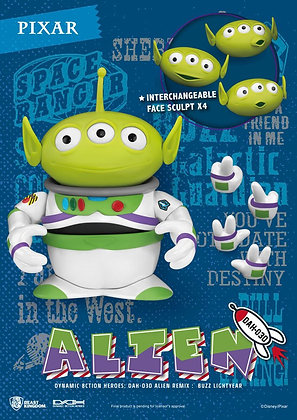 Toy Story Dynamic 8ction Heroes Action Figure Alien Remix Buzz Lightyear 16 cm