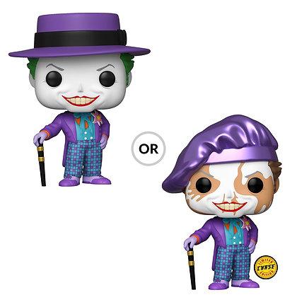 Funko Pop - DC - Batman 1989 - Joker w/Hat (Chase Random)