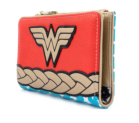 Loungefly X DC Comics vintage Wonder Woman Cosplay wallet