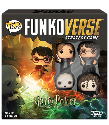 FunkoVerse - Harry Potter - Strategy Game 2-4 players (English)