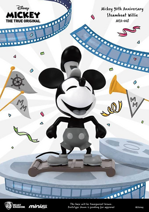 Mickey Mouse 90th Anniversary Mini Egg Attack Steamboat Willie