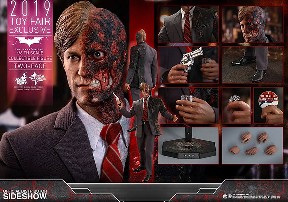 Hot Toys The Dark Knight MMS 1/6 Two-Face 2019 Toy Fair Exclusive 31cm