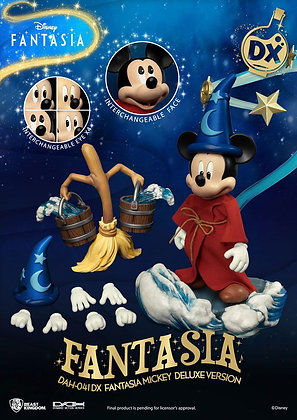 Disney Classic Dynamic 8ction Heroes Action Figure 1/9 Mickey Fantasia Deluxe Ve