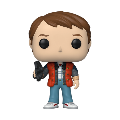Funko Pop Back to the Future Marty in Puffy Vest