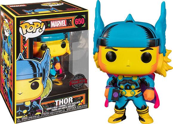 Funko Pop Marvel Black Light - Thor