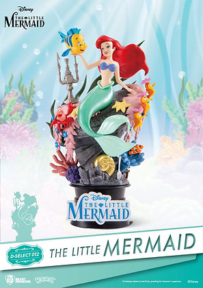 Statue - Beast Kingdom -The Little Mermaid D-Select PVC Diorama 15 cm
