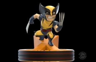 Q-Fig - Marvel - Diorama Wolverine (X-Men) 11 cm