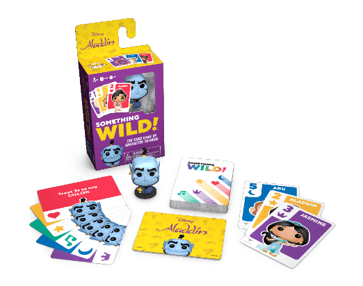 Funko Something Wild Card Game -  Aladdin (ITALIANO)