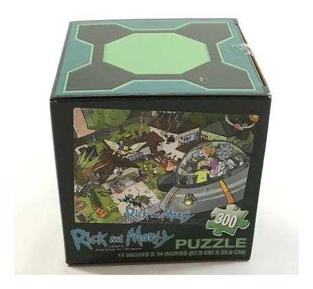 Puzzle - Rick&Morty - Puzzle LootCrate Exclusive