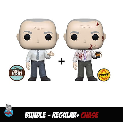 Funko Pop The Office -  Bundle Regular+Chase Specialty Series - Creed