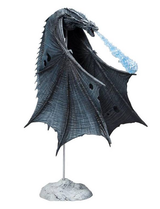 Action Figure - Game of Thrones - Viserion (Ice Dragon) 23 cm