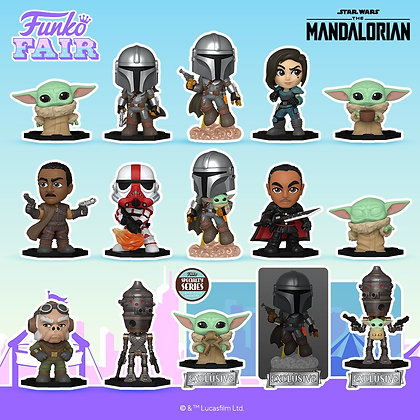 Funko Mystery Minis The Mandalorian (Specialty Series)