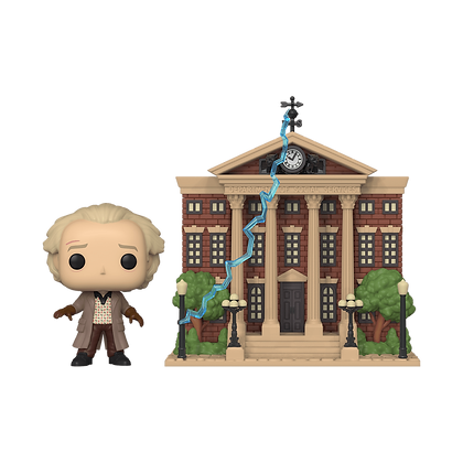 Funko Pop Back to the Future Town Doc w/ Clock Tower