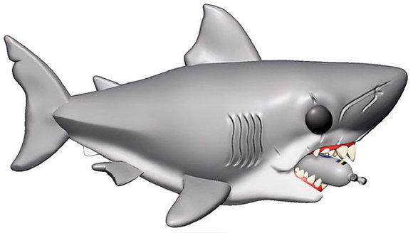 "Funko Pop - Movie - Jaws - 6"" Jaws w/Diving tank Super Size"