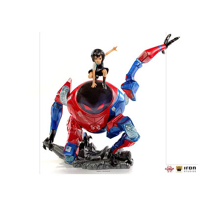 Iron Studios Into the Spider-Verse  Deluxe  1/10 Peni Parker & SP 25cm