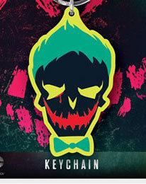 Portachiavi - Dc Comics - Suicide Squad Joker gomma 6 cm