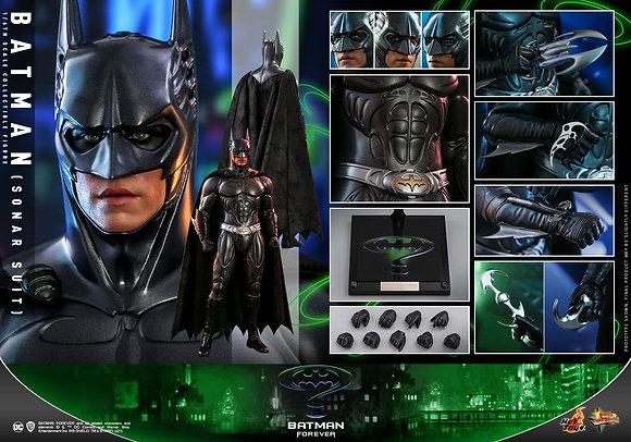Hot Toys Batman Forever Movie Masterpiece 1/6 Batman (Sonar Suit) 30 cm