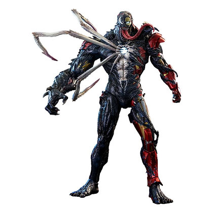 Marvel's Spider-Man Maximum Venom Artist Collection 1/6 Venomized Iron Man 35 cm