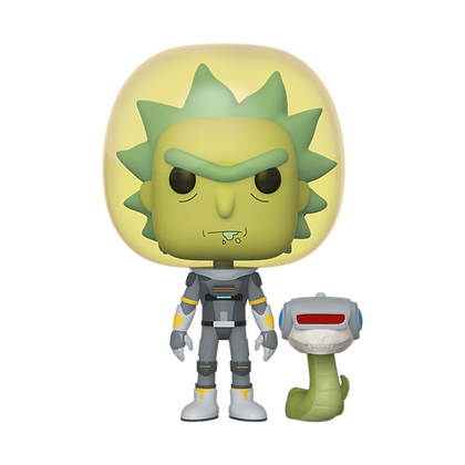Funko Pop - Animation - Rick & Morty - Space Suit Rick w/Snake