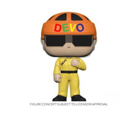 Funko Pop Rocks - Devo - Satisfaction (Yellow Suit)