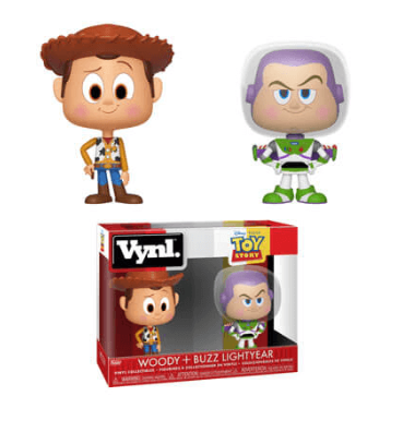 Funko Vynl - Disney - Toy Story Woody & Buzz