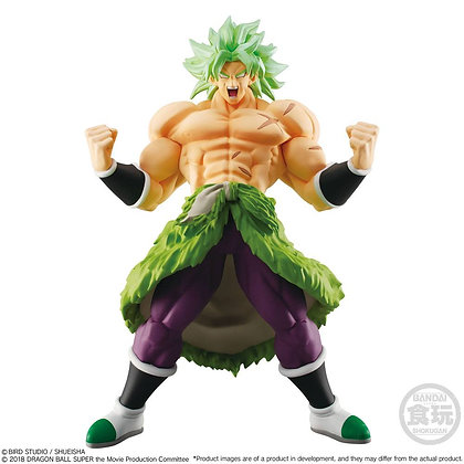 Statue - Dragonball Super Styling Collection Super Saiyan Broly Full Power 14cm