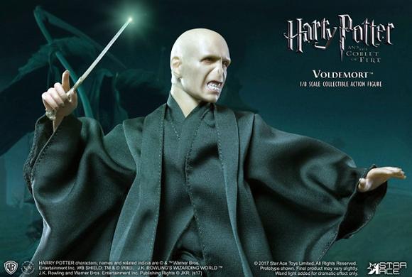 Action Figure - Harry Potter - Voldemort Wand Light Up 1/8 23cm