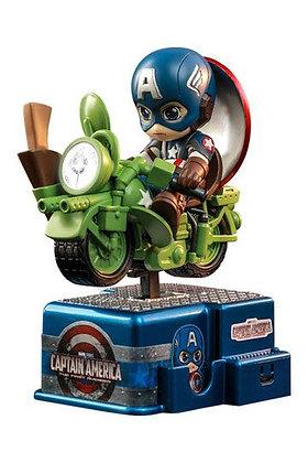 Marvel Comics CosRider Mini Figure with Sound & Light Up Captain America 15 cm