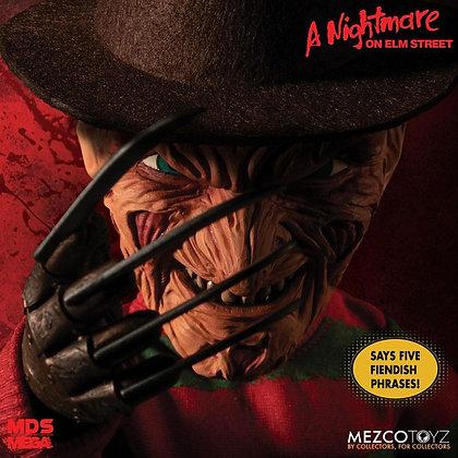 Doll - Nightmare On Elm Street Mega Scale Talking  Freddy Krueger 38 cm
