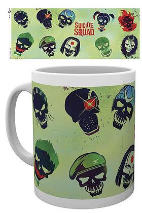 Tazze e Bicchieri - Dc Comics - Suicide Squad Skulls chibi