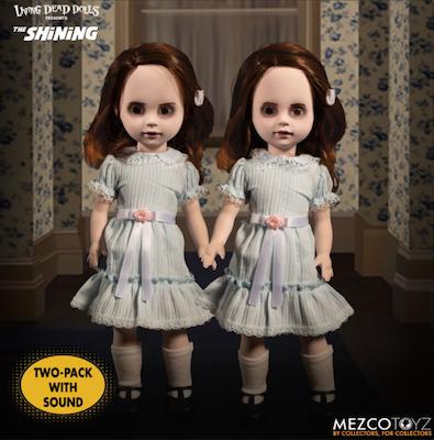 Living Dead Dolls  - Horror - The Shining Talking Grady Twins 25 cm