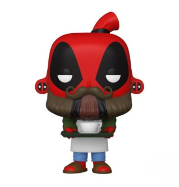 Funko Pop Marvel Deadpool 30th - Coffee Barista