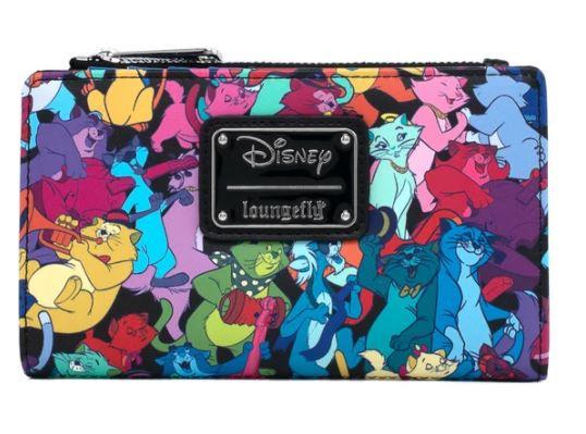 Loungefly X Disney Aristocats Jazzy Cats Flap Wallet