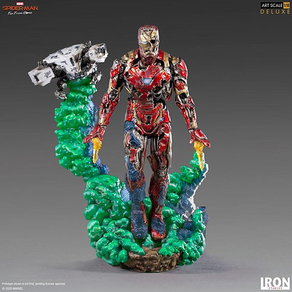 Spider-Man Far From Home BDS Art Scale Deluxe Statue 1/10 Iron Man Illusion 21cm