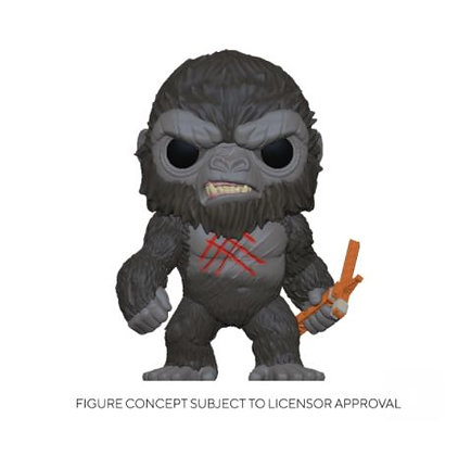 Funko Pop Godzilla Vs Kong - Battle Scarred Kong