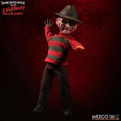 Living Dead Dolls- Horror - Nightmare on Elm Street Talking Freddy Krueger 25 cm
