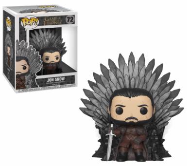 Funko Pop - Deluxe - Game of Thrones - Jon Snow Sitting on Throne