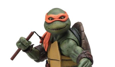 Action Figure - Neca - Teenage Mutant Ninja Turtles Michelangelo 18cm