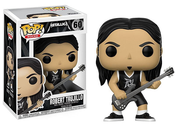 Funko Pop - Rocks - Metallica Robert Trujillo POP!