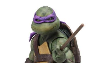 Action Figure - Neca - Teenage Mutant Ninja Turtles Donatello 18cm