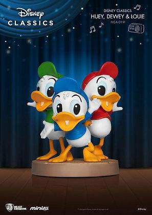 Disney Classic Series Mini Egg Attack Figure Huey, Dewey & Louie 8 cm