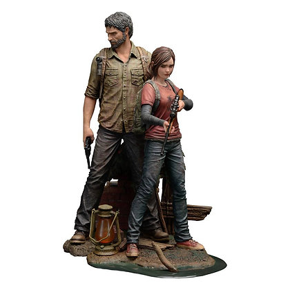The Last of Us PVC Statues 1/9 Joel & Ellie (Mamegyorai) Pagamento a rate