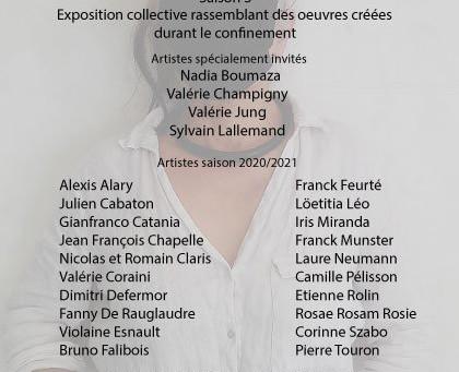 """Du 15 au 25 septembre 2020 : Exposition Collective """" Edition masquée"""" à  LA VITRINE"""