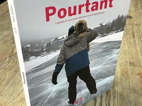 Parution du N°1 de la nouvelle revue dédiée à la littérature et à la photographie : POURTANT # 1