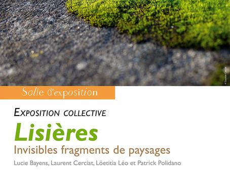 Exposition : Lisières, invisibles fragments de paysages