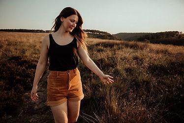 Lizzie at Golden Hour Derbyshire Photogr